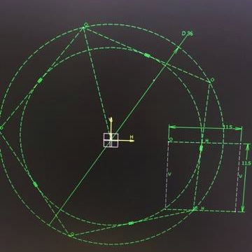 cad outline